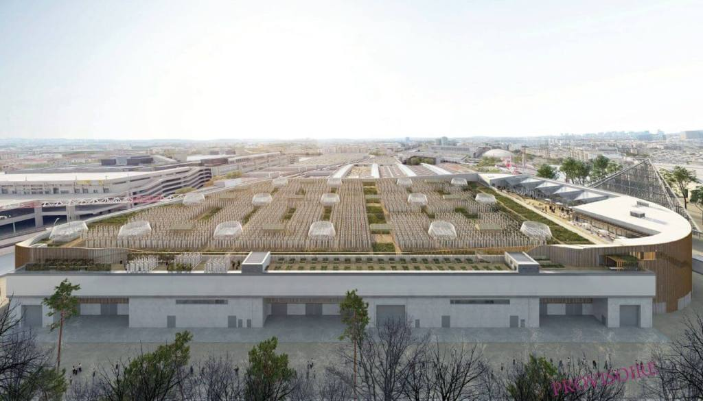 The worlds largest rooftop farm in Paris