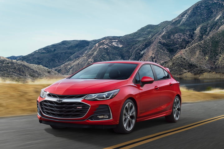 general motors adding google features to infotainment systems 2019 chevrolet cruze hatchback