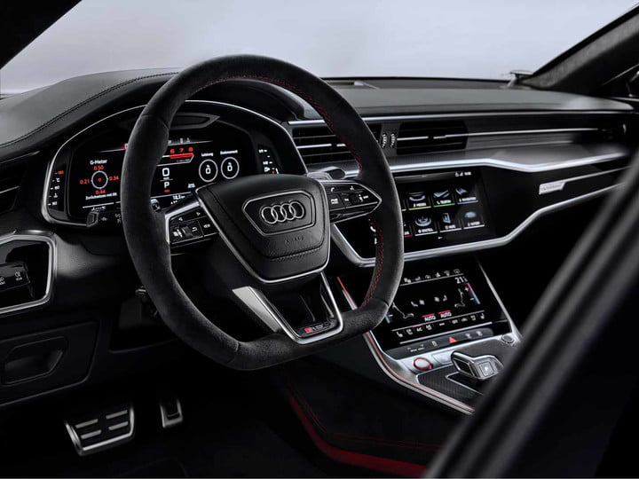 2020 audi rs 7 sportback packs 600 horsepower intuitive infotainment system 12