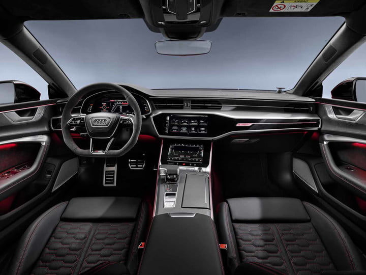 2020 audi rs 7 sportback packs 600 horsepower intuitive infotainment system 13
