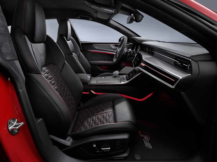 2020 audi rs 7 sportback packs 600 horsepower intuitive infotainment system 14
