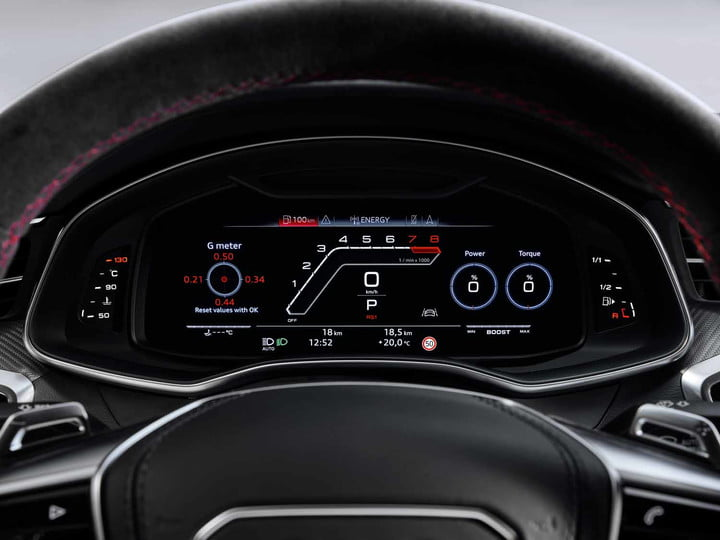 2020 audi rs 7 sportback packs 600 horsepower intuitive infotainment system 3