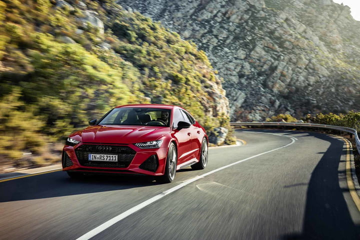 2020 audi rs 7 sportback packs 600 horsepower intuitive infotainment system 4