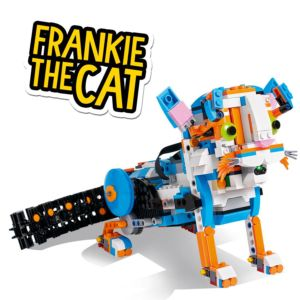 THis LEGO Robot is fun for all ages.