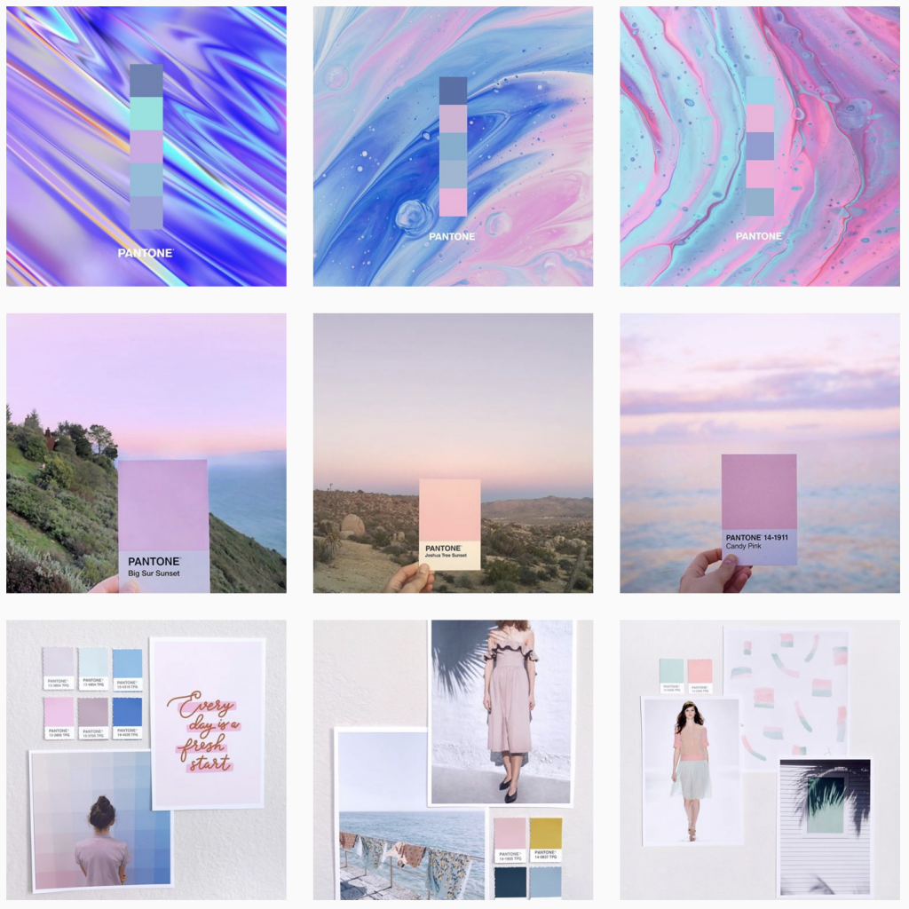 maintain a cohesive grid UGC Instagram