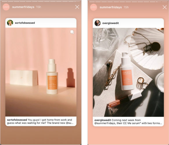 how to use UGC on Instagram content