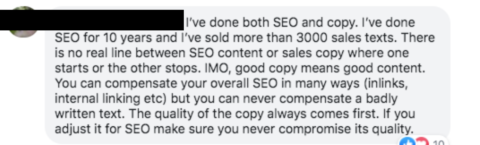 SEO Content Writing vs. SEO Copywriting: Is There a Difference?