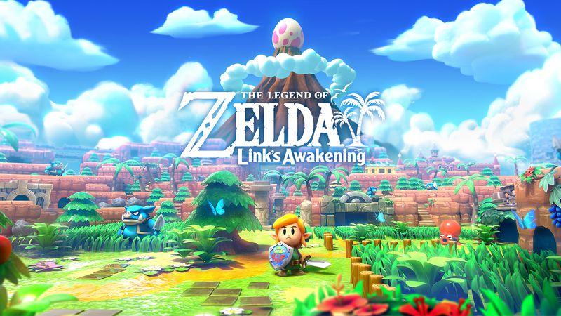 cover art for The Legend of Zelda: Link's Awakening (2019)