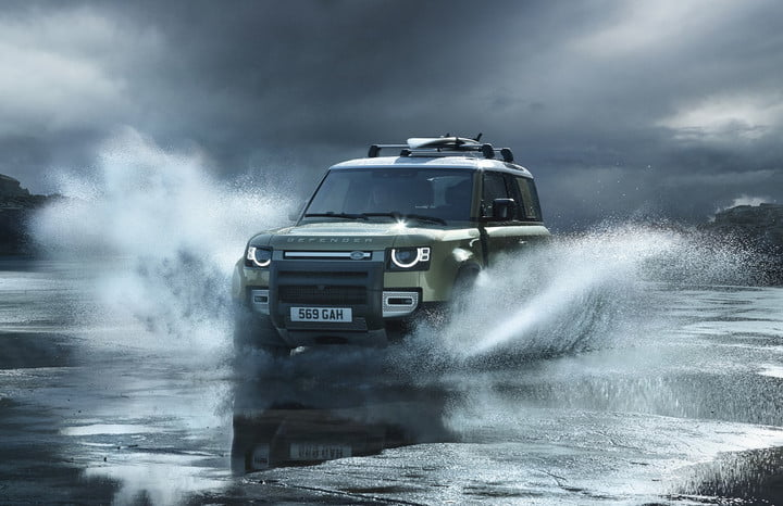2020 land rover defender boasts rugged style usable tech lr def 20my 90 dynamic 100919 03