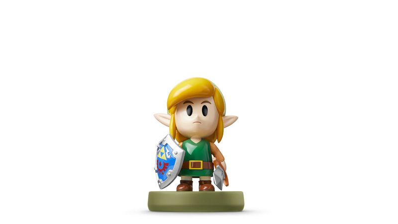Link amiibo in the style of The Legend of Zelda: Link's Awakening (2019)