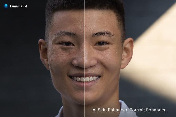 skylum luminar 4 teaser skin enhancer skylumluminar4skin4