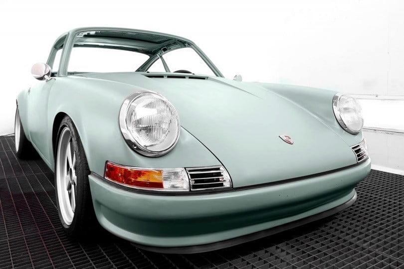 Voitures Extravert electric Porsche 911