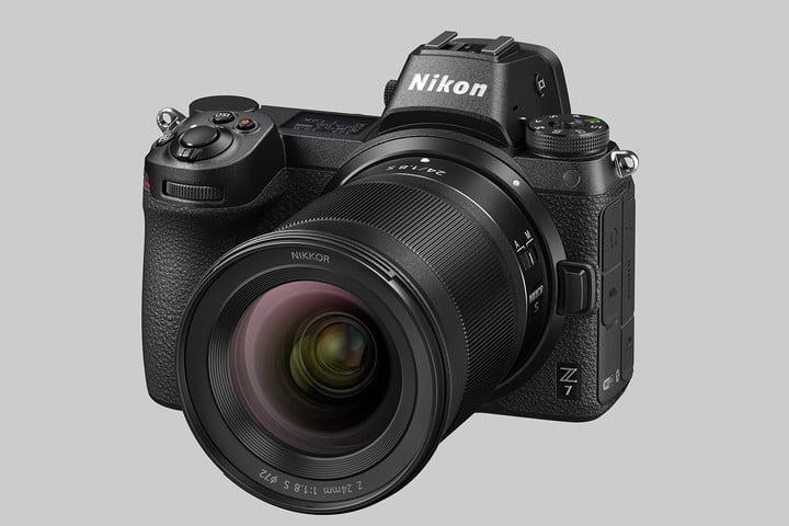 nikon nikkor z 24mm unveiled z7 24 1 8 front34l