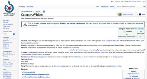 Wikimedia Videos