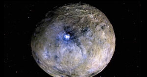 According to several new studies published today in the journal Nature, space rock Ceres holds massive reservoirs of sea water underneath its surface.